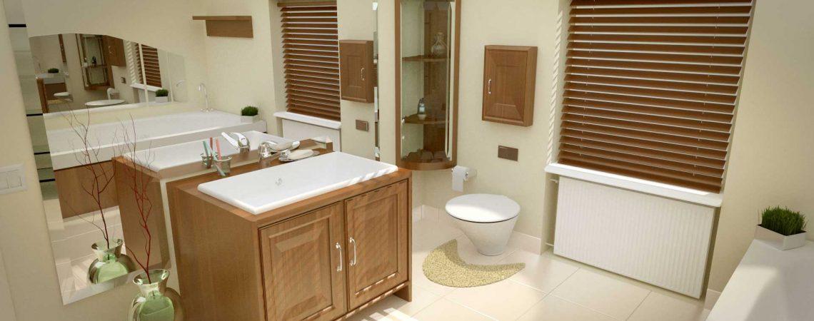 Modélisation d'une salle de bain en 3D - Architecture et Immobilier - ABzH Prod - Animation 3D photoréaliste - Infographiste 3D Freelance