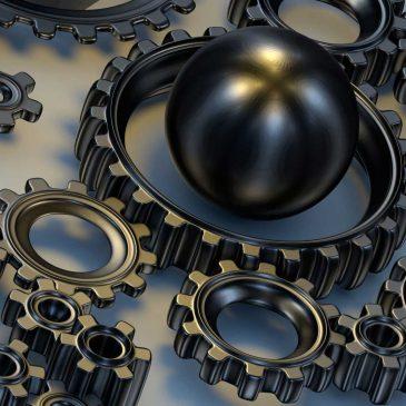Modélisation 3D d'engrenages et rendu miroir rapide – Tutorial