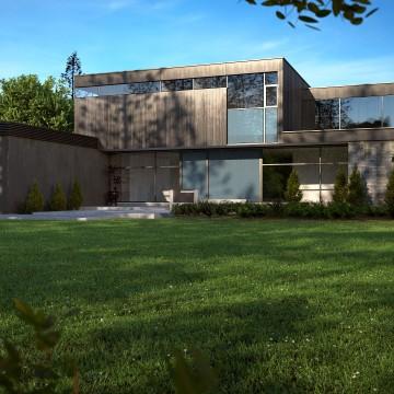 Modélisation et animation 3D d'une maison design – Tutorial