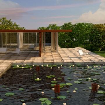 Modélisation et animation 3D d'un pool house zen – Tutorial