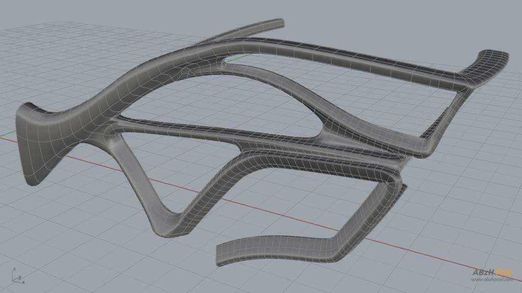 Modélisation 3D Wavy Hôtel - Organique avant - Architecture et nature - ABzH Prod - Animation 3D photoréaliste - Infographiste 3D Freelance