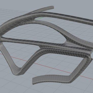 Modélisation 3D Wavy Hôtel - Organique avant - Architecture Immobilier et nature - Animation 3D photoréaliste - Infographiste 3D Freelance