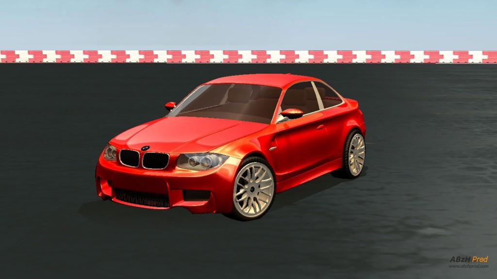 Modélisation et Visualisation Temps Réel Animation d'une voiture 3D réalisée avec le logiciel Blender