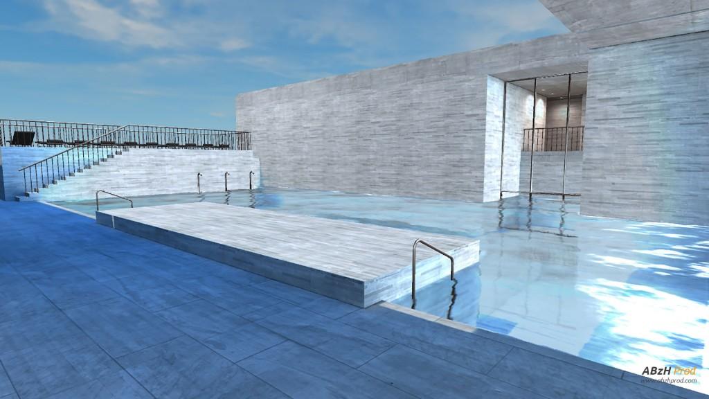 Modélisation et Visualisation Temps Réel Animation Architecture 3D - ABzH Prod - Animation 3D photoréaliste - Infographiste 3D Freelance