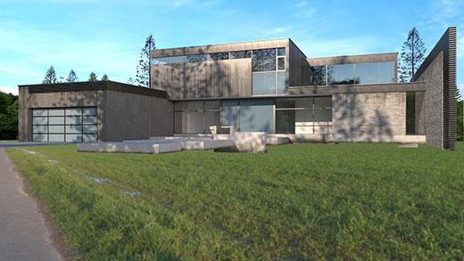 Maison Moderne étape 6 - ABzH Prod