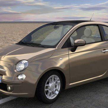 Modélisation et animation 3D Fiat 500 – Rigging et Drifting – Tutorial
