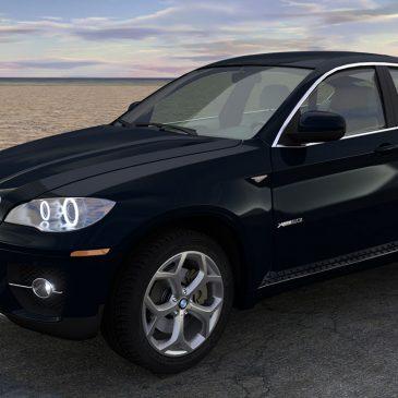 Modélisation et animation 3D BMW X6 – Rigging et Drifting – Tutorial