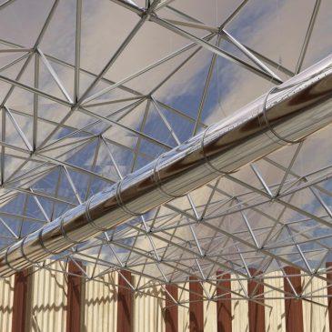 Modélisation et animation 3D gaine de ventilation Puls'Air