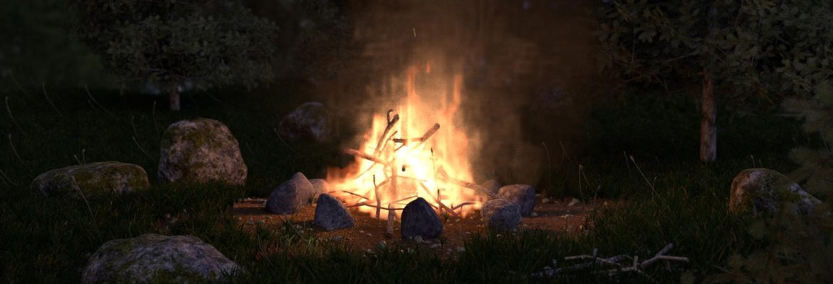 Smoke and Fire – Feu de camp – Tutorial