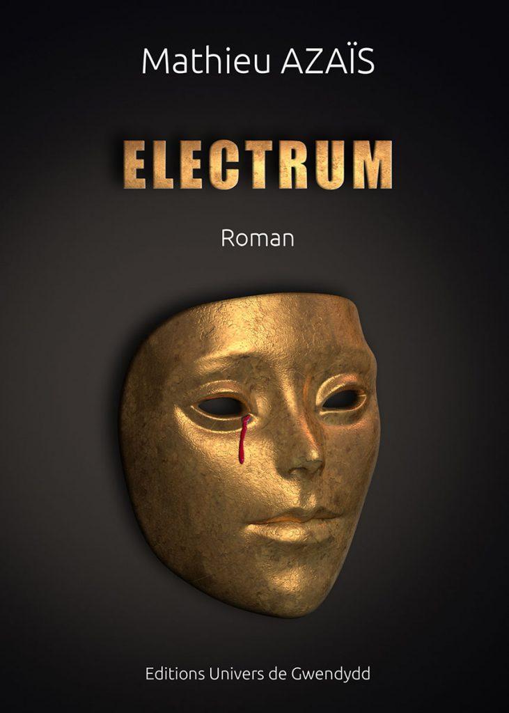 Electrum - Le dernier polar de l'ex-flic, le romancier Mathieu Azais - Livre - Roman - Animation vidéo 3D photoréaliste - Infographiste 3D Freelance - ABzHProd