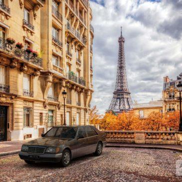Mercedes S280 M6 Diana Paris CGI VFX